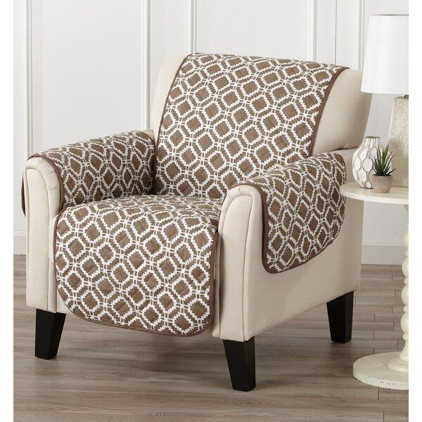 Review Box Cushion Armchair Slipcover