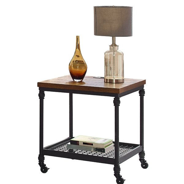 Hogans End Table by Williston Forge