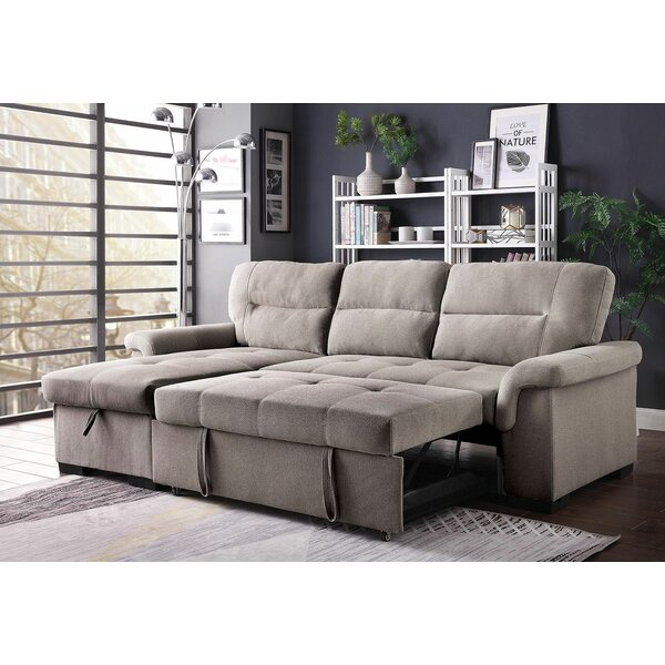Chouinard Sleeper Sectional by Darby Home Co
