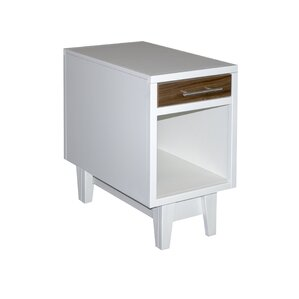 Edmund End Table with Storage by Corrigan St..