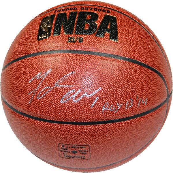 Michael Carter-Williams Signed Zi/O Basketball by Steiner Sports