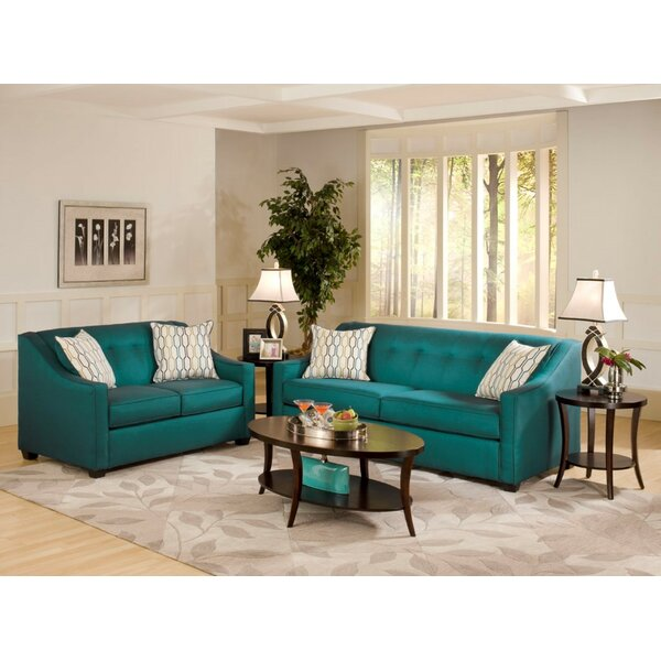 #1 Hutter 2 Piece Living Room Set By Mercer41 Spacial Price