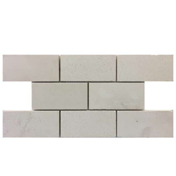 Honed 2 x 4 Natural Stone Mosaic Tile in Freska by QDI Surfaces
