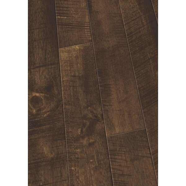 4 Solid Hevea Hardwood Flooring in Native Cobbler by Maritime Hardwood Floors