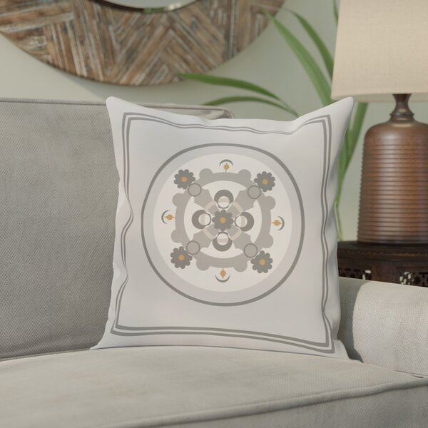 Souihla Geometric Print Outdoor Pillow by Bungalow Rose