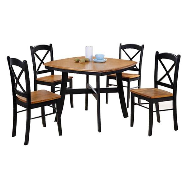 Allis 5 Piece Dining Set by Loon Peak