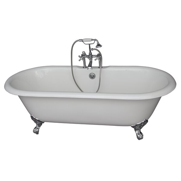 60.75 x 31 Soaking Bathtub Kit by Barclay