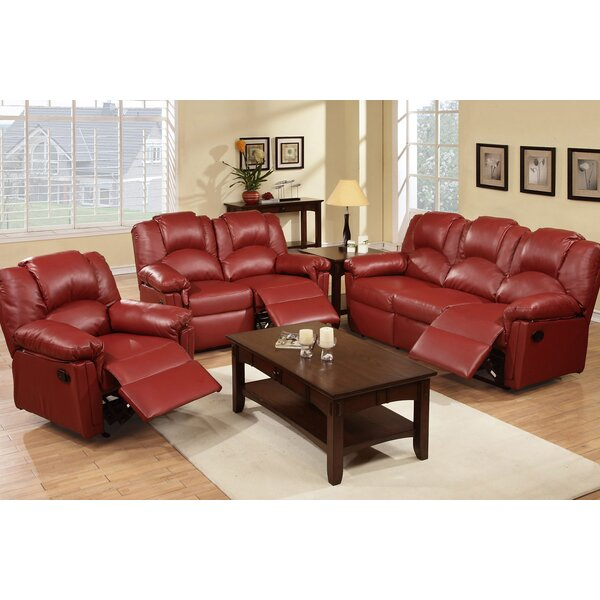 Andy Reclining 3 Piece Living Room Set by A&J Home
