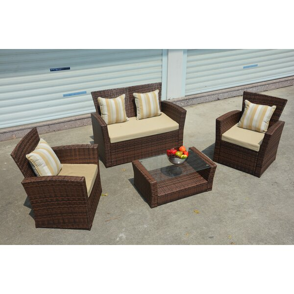Vineland 7 Piece Sofa Set  with Cushions by Latitude Run