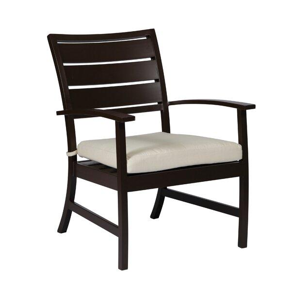 Charleston Euro Patio Chair with Cushion by Summer Classics
