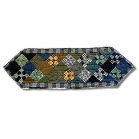 Chambray Nine Patch Table Runner by Patch Magic