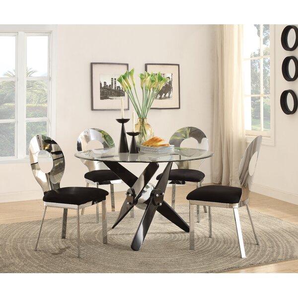 Hartzler Upholstered Dining Chair (Set of 2) by Orren Ellis
