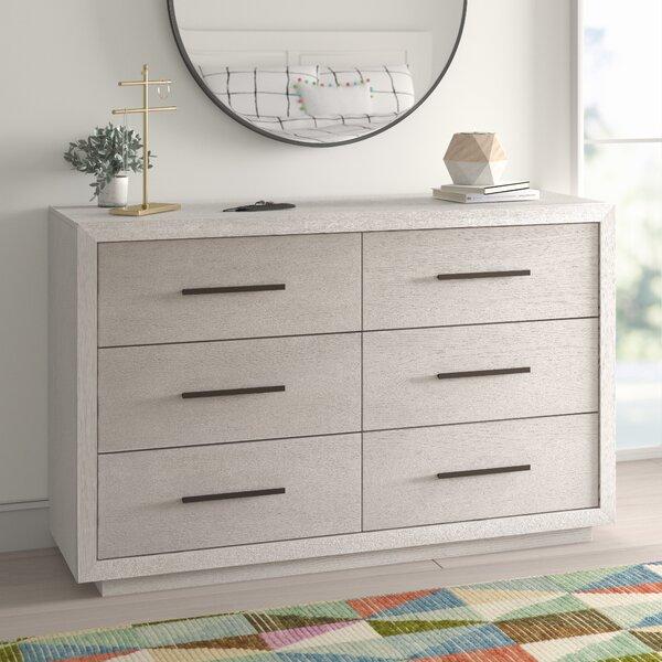 Caron 6 Drawer Double Dresser by Trule Teen