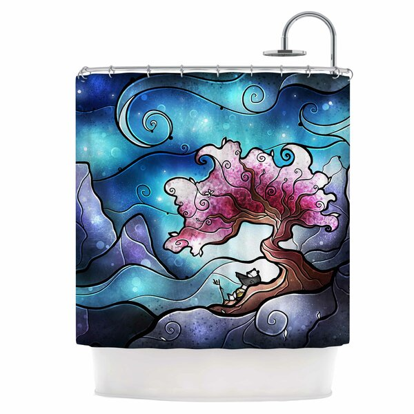 You Must Believe Shower Curtain by East Urban Home