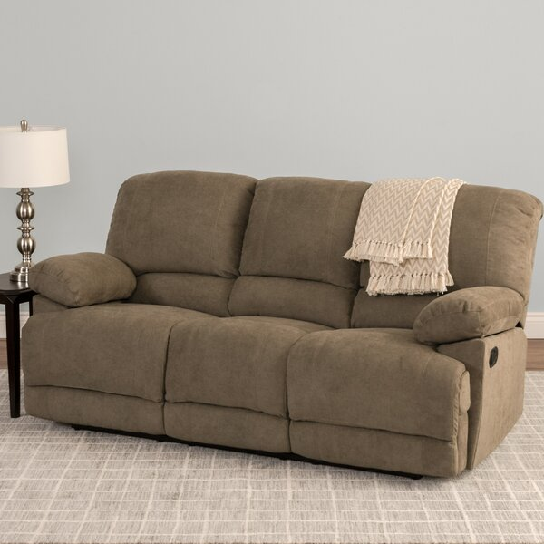 Get Valuable Condron Chenille Reclining Sofa by Red Barrel Studio by Red Barrel Studio