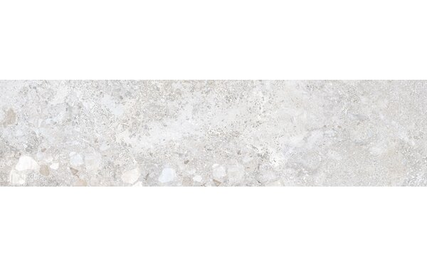 Vstone 9 x 38 Porcelain Field Tile in Silver Matte by Tesoro