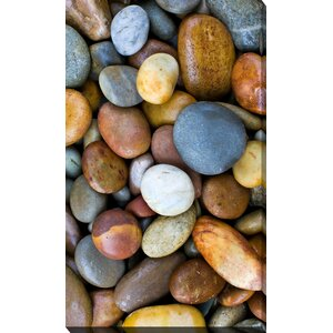 'Rocks II' Photographic Print on Wrapped Canvas by Picture Perfect International