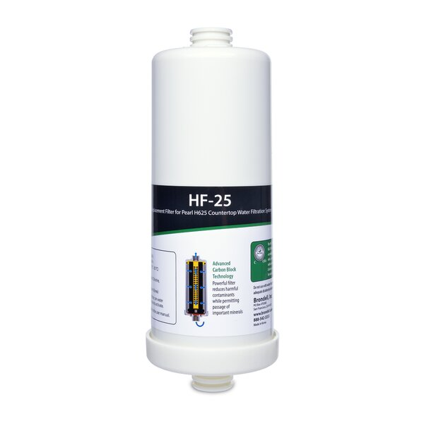 H2o+ Pearl Carbon Block Water Filter By Brondell.