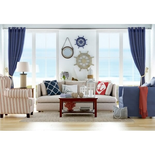 Jammie Hand-Loomed Natural Area Rug by Beachcrest Home