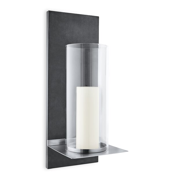 Finca Wall-Mounted Stainless Steel Sconce by Blomu