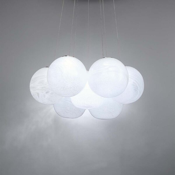 Cosmic Crystal 7-Light LED Novelty Chandelier by Modern Forms