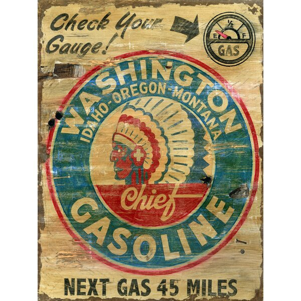 Washington Gas Vintage Advertisement Plaque by Winston Porter