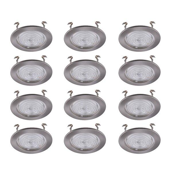 4 Shower Recessed Trim (Set of 12) by Elegant Lighting
