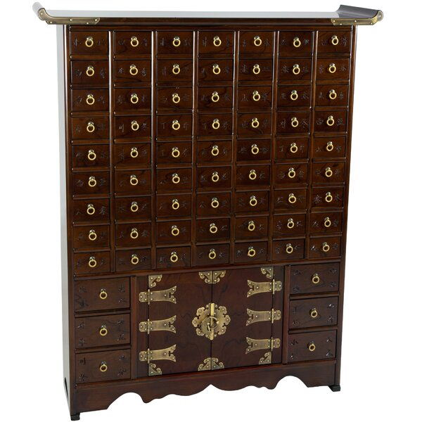 Colston 69 Drawer Apothecary Accent Chest by Bloomsbury Market