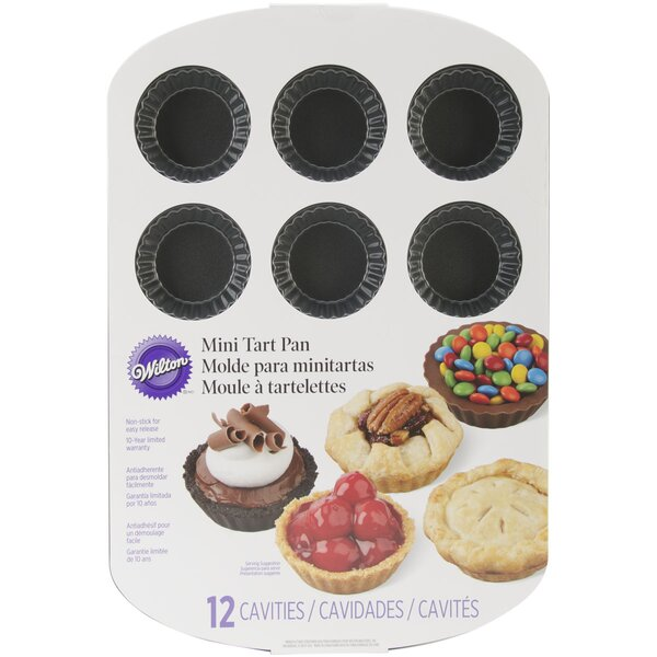 12 Cavity Mini Tart Pan by Wilton
