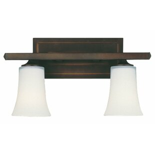 Compare & Buy Boulevard 2-Light Vanity Light By Feiss