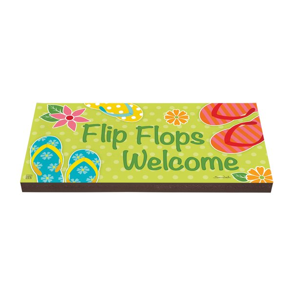 Flip Flops Welcome Stepping Stone by Studio M