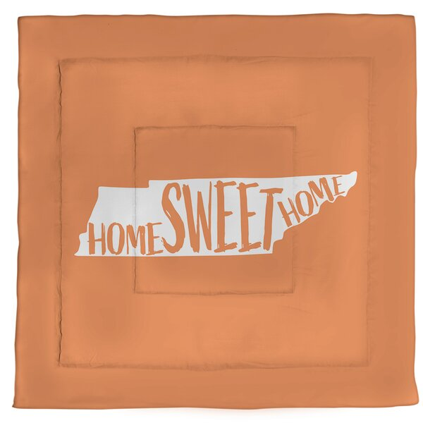 Tennessee Home Sweet Single Reversible Comforter