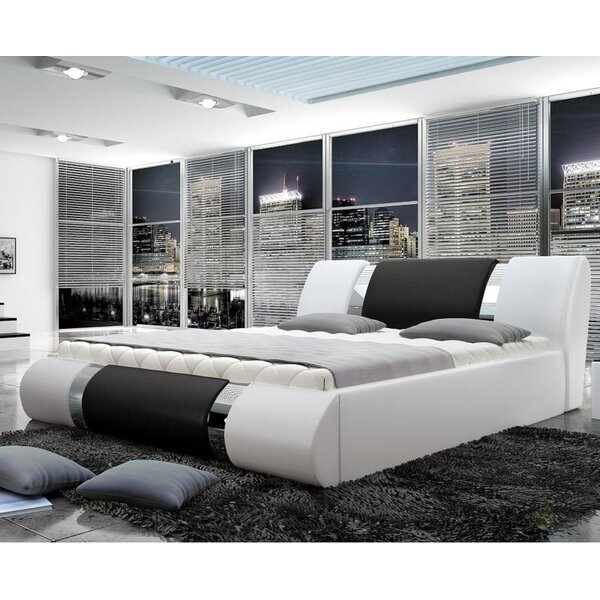 Sarazen Upholstered Storage Platform Bed with Mattress by Orren Ellis