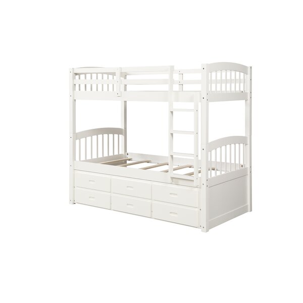 Franko Twin Over Twin Over Twin Bunk Bed By Harriet Bee by Harriet Bee Read Reviews