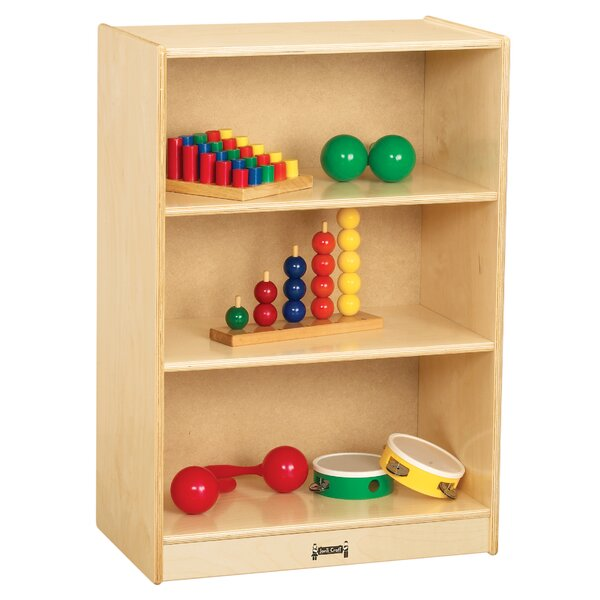 3 Compartment Shelving Unit with Casters by Jonti-Craft