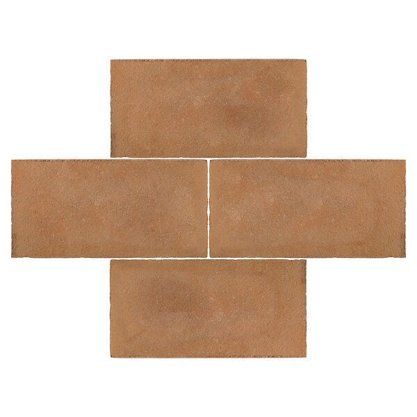 Perche 5.5 x 10.75 Terra Cotta Field Tile in Brown by EliteTile