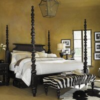 Tommy Bahama Home Kingstown Four Poster Customizable Bedroom Set ...