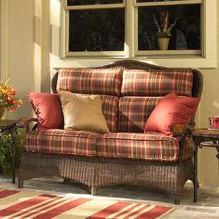 Chatham Loveseat with Cushions By Woodard