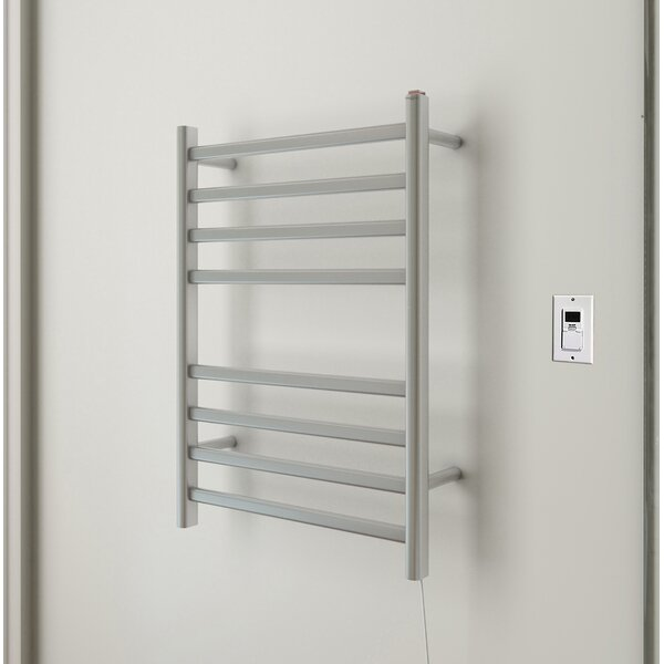 Prima Wall Mount Electric Towel Warmer with Timer by Ancona