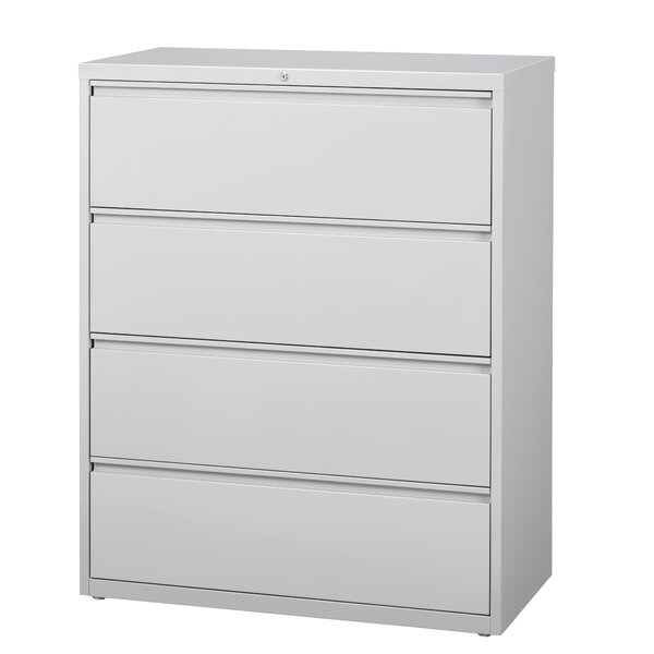 Kissena 4 Drawer Lateral Filing Cabinet by Symple Stuff