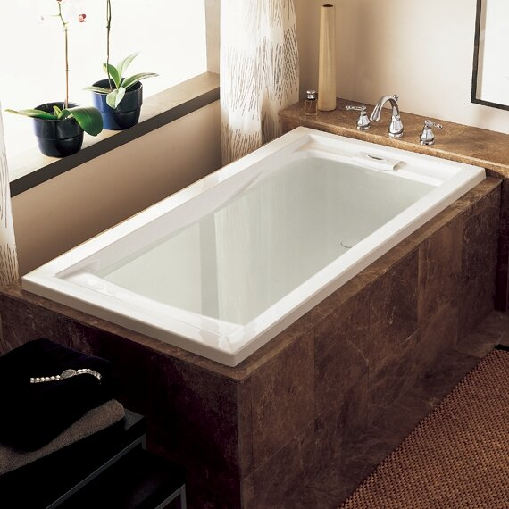 Evolution 60 x 36 Drop In Soaking Bathtub by Ameri