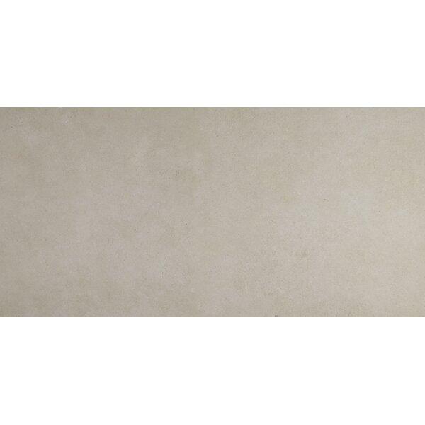 Haut Monde 24 x 48 Porcelain Field Tile in Nobility Cream by Daltile