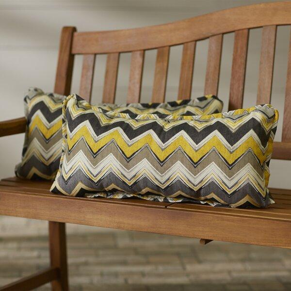 Pursley Outdoor Lumbar Pillow (Set of 2) by Brayden Studio