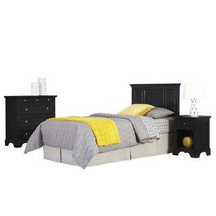 Marblewood Panel 3 Piece Bedroom Set by Alcott Hill