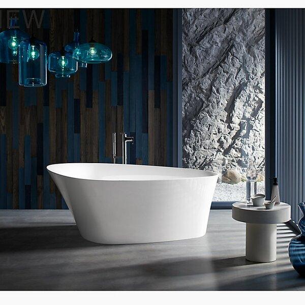Veil®  66 x 36 Freestanding Bath by Kohler