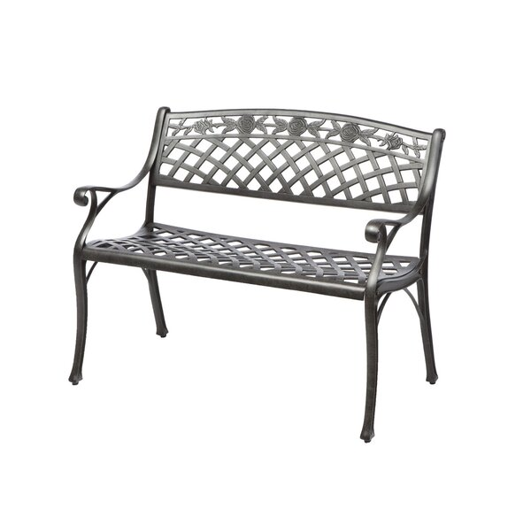 Markham Cast Aluminum Garden Bench by One Allium Way