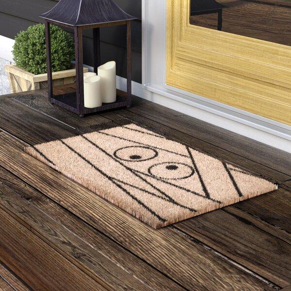 Reimann Non Slip Coir Doormat by Andover Mills