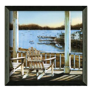 'Harbor View' Framed Photographic Print by Highland Dunes