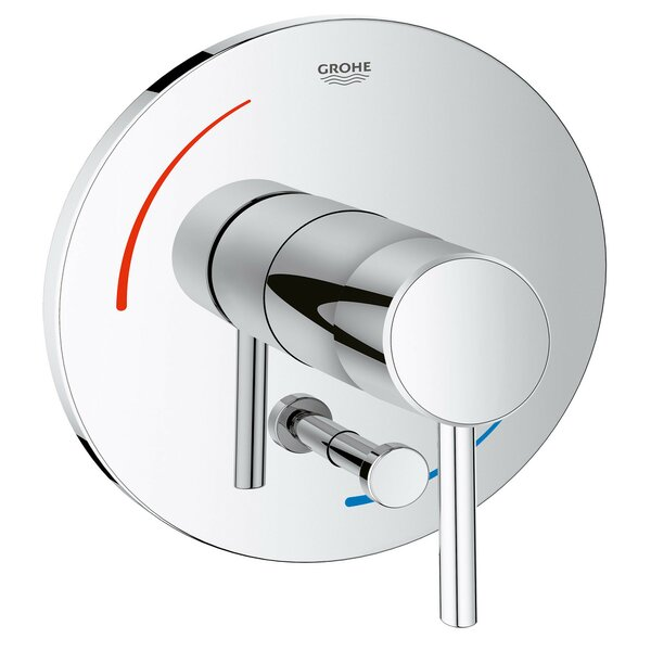 Concetto Soft Single Handle Shower Faucet Trim Only by Grohe