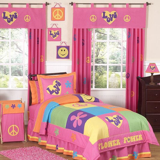 Groovy Kid Bedding Collection by Sweet Jojo Designs